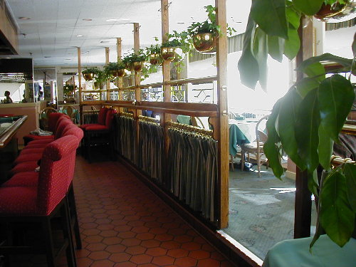 Restaurant Pinch Pleated Drapery